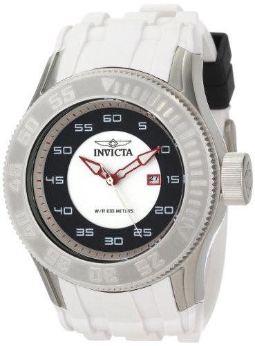 インビクタ 時計 インヴィクタ メンズ 腕時計 Invicta Men's 11938 Pro Diver White and Black Dial White Polyurethane Watch インビクタ 時計 インヴィクタ メンズ 腕時計 Invicta Men's 11938 Pro Diver White and Black Dial White Polyurethane Watch