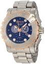 インビクタ 時計 インヴィクタ メンズ 腕時計 Invicta Men's 11025 Reserve Chronograph Blue Dial Watch