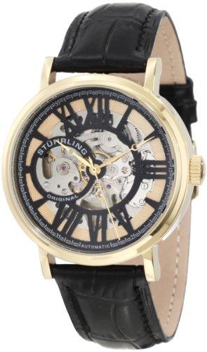 ステューリング オリジナル 腕時計 メンズ 時計 Stuhrling Original Men's 168.33351 Classic Delphi Chariot Automatic Skeleton Gold Tone Watch ステューリング オリジナル 腕時計 メンズ 時計 Stuhrling Original Men's 168.33351 Classic Delphi Chariot Automatic Skeleton Gold Tone Watch