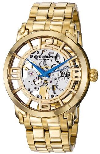 """ステューリング オリジナル 腕時計 メンズ 時計 Stuhrling Original Men's 165B2B.333331 """"Classic Winchester 44 Elite"""" 23k Gold-Layered Automatic Watch ステューリング オリジナル 腕時計 メンズ 時計 Stuhrling Original Men's 165B2B.333331 """"Classic Winchester 44 Elite"""" Watch"""