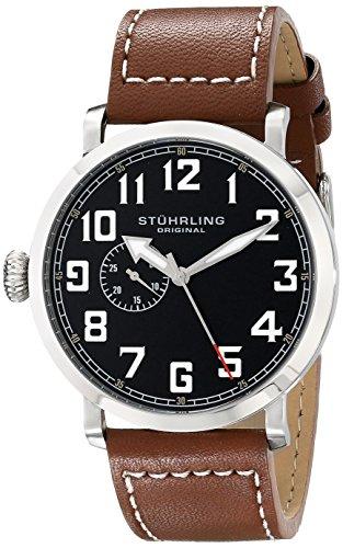 ステューリング オリジナル 腕時計 メンズ 時計 Stuhrling Original Men's 721.01 Monterey Quartz Seconds Subdial Brown Watch ステューリング オリジナル 腕時計 メンズ 時計 Stuhrling Original Men's 721.01 Monterey Quartz Seconds Subdial Brown Watch
