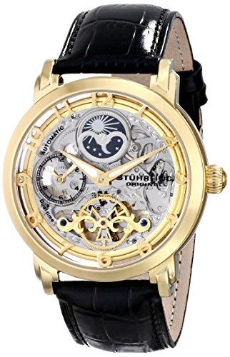 ステューリング オリジナル 腕時計 メンズ 時計 Stuhrling Original Men's 165XL.333531 Winchester Automatic Skeleton Gold Watch ステューリング オリジナル 腕時計 メンズ 時計 Stuhrling Original Men's 165XL.333531 Winchester Automatic Skeleton Gold Watch