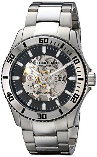 ステューリング オリジナル 腕時計 メンズ 時計 Stuhrling Original Men's 773.01 Antilles Automatic Skeleton Stainless Steel Watch ステューリング オリジナル 腕時計 メンズ 時計 Stuhrling Original Men's 773.01 Antilles Automatic Skeleton Stainless Steel Watch