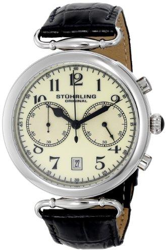 ステューリング オリジナル 腕時計 メンズ 時計 Stuhrling Original Men's 226.01 Champion Velocity Analog Display Quartz Black Watch ステューリング オリジナル 腕時計 メンズ 時計 Stuhrling Original Men's 226.01 Champion Velocity Analog Display Quartz Black Watch