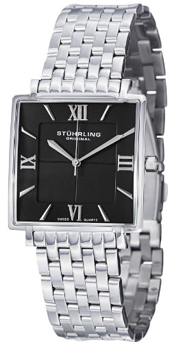 ステューリング オリジナル 腕時計 メンズ 時計 Stuhrling Original Men's 425.33111 Classic Ascot Saratoga Elite Swiss Quartz Ultra Slim Stainless Steel Bracelet Watch ステューリング オリジナル 腕時計 メンズ 時計 Stuhrling Original Men's 425.33111 Watch