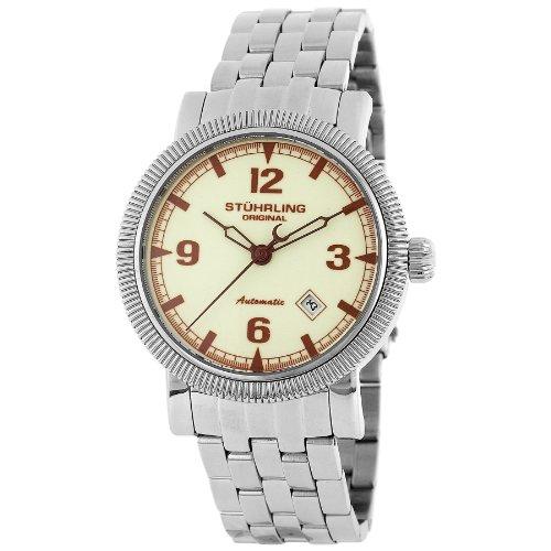 ステューリング オリジナル 腕時計 メンズ 時計 Stuhrling Original Men's 201.331167 Sportsman's 'Tuskegee Elite' Automatic Watch ステューリング オリジナル 腕時計 メンズ 時計 Stuhrling Original Men's 201.331167 Sportsman's 'Tuskegee Elite' Automatic Watch