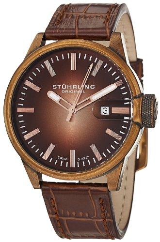 ステューリング オリジナル 腕時計 メンズ 時計 Stuhrling Original Men's 468.3345K14 Octane Concorso Classic Swiss Quartz Date Rose Tone Watch ステューリング オリジナル 腕時計 メンズ 時計 Stuhrling Original Men's 468.3345K14 Octane Concorso Classic Swiss Quartz Date Rose Tone Watch