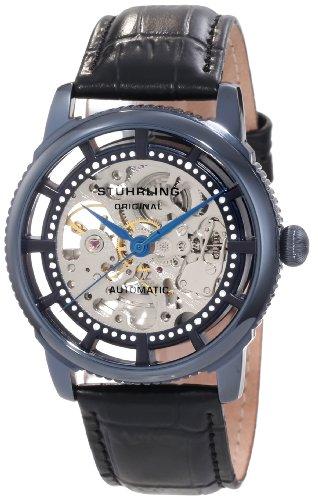 ステューリング オリジナル 腕時計 メンズ 時計 Stuhrling Original Men's 393.33X56 Classic Winchester Skeleton Automatic Skeleton Blue Watch ステューリング オリジナル 腕時計 メンズ 時計 Stuhrling Original Men's 393.33X56 Classic Winchester Skeleton Automatic Skeleton Blue Watch