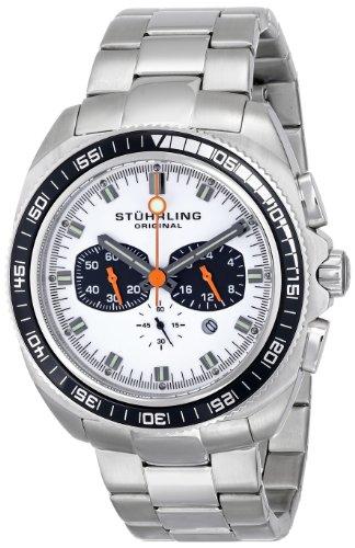 """ステューリング オリジナル 腕時計 メンズ 時計 Stuhrling Original Men's 586B.01 """"Octane Concorso"""" Stainless Steel Watch ステューリング オリジナル 腕時計 メンズ 時計 Stuhrling Original Men's 586B.01 """"Octane Concorso"""" Stainless Steel Watch"""