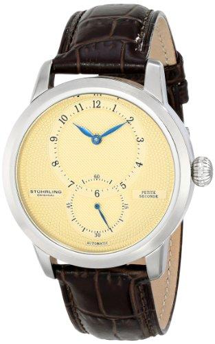 ステューリング オリジナル 腕時計 メンズ 時計 Stuhrling Original Men's 766.01 Symphony Prominence Analog Display Automatic Self Wind Brown Watch ステューリング オリジナル 腕時計 メンズ 時計 Stuhrling Original Men's 766.01 Watch