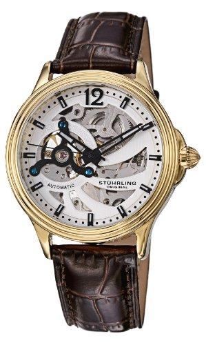 ステューリング オリジナル 腕時計 メンズ 時計 Stuhrling Original Men's 170.3335K2 Classic Delphi Helix Automatic Skeleton Gold Tone Watch ステューリング オリジナル 腕時計 メンズ 時計 Stuhrling Original Men's 170.3335K2 Classic Delphi Helix Automatic Skeleton Gold Tone Watchセイコー 腕時計 歴代 モデル