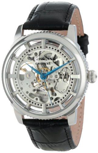 ステューリング オリジナル 腕時計 メンズ 時計 Stuhrling Original Men's 393.33152 Classic Winchester Skeleton Automatic Skeleton Silver Tone Watch ステューリング オリジナル 腕時計 メンズ 時計 Stuhrling Original Men's 393.33152 Watch
