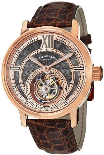 ステューリング オリジナル 腕時計 メンズ 時計 Stuhrling Original Men's 396.334XK14 Tourbillon Limited Edition Imperium Mechanical Rose-Tone Watch ステューリング オリジナル 腕時計 メンズ 時計 Stuhrling Original Men's 396.334XK14 Watch