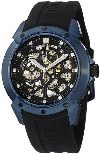 ステューリング オリジナル 腕時計 メンズ 時計 Stuhrling Original Men's 539.33X61 Leisure Gen-X Crucible XT Automatic Skeleton Blue Watch ステューリング オリジナル 腕時計 メンズ 時計 Stuhrling Original Men's 539.33X61 Leisure Gen-X Crucible XT Automatic Skeleton Blue Watch