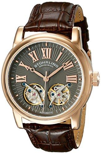 ステューリング オリジナル 腕時計 メンズ 時計 Stuhrling Original Men's 661.03 Legacy Analog Display Automatic Self Wind Brown Watch ステューリング オリジナル 腕時計 メンズ 時計 Stuhrling Original Men's 661.03 Legacy Analog Display Automatic Self Wind Brown Watch
