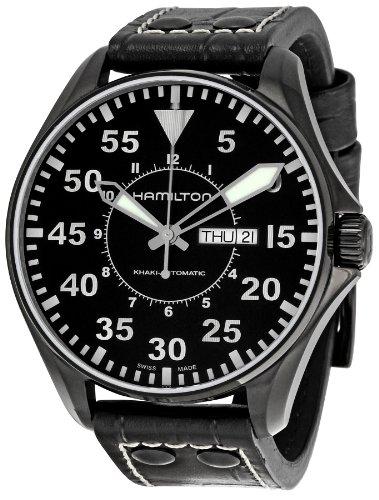 ハミルトン カーキ メンズ 腕時計 Hamilton Men's H64785835 Khaki King Pilot Black Dial Watch ハミルトン カーキ メンズ 腕時計 Hamilton Men's H64785835 Khaki King Pilot Black Dial Watch