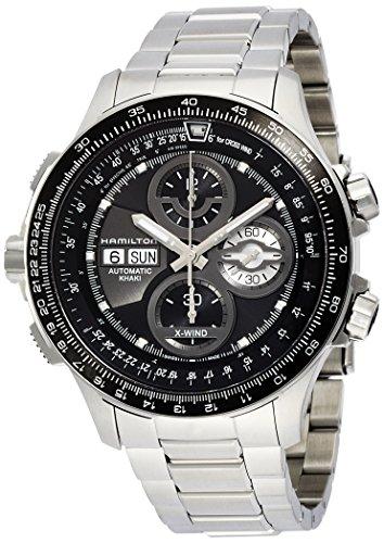 ハミルトン カーキ メンズ 腕時計 Hamilton Aviation Khaki X-Wind Black Dial Stainless Steel Mens Watch H77766131 ハミルトン カーキ メンズ 腕時計 Hamilton Aviation Khaki X-Wind Black Dial Stainless Steel Mens Watch H77766131