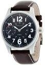 ハミルトン カーキ メンズ 腕時計 Hamilton Khaki Field Mens Brown Strap Black Dial Stainless Steel Watch H69619533