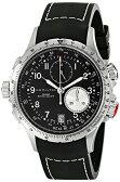ハミルトン カーキ メンズ 腕時計 Hamilton Men's H77612333 Khaki ETO Black Chronograph Dial Watch