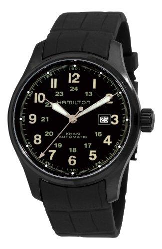 ハミルトン カーキ メンズ 腕時計 Hamilton Men's H70685333 Khaki Field Black Automatic Dial Watch ハミルトン カーキ メンズ 腕時計 Hamilton Men's H70685333 Khaki Field Black Automatic Dial Watch