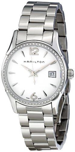 ハミルトン ジャズマスター レディース 腕時計 Hamilton Women's H32381115 Jazzmaster Silver Dial Watch ハミルトン ジャズマスター レディース 腕時計 Hamilton Women's H32381115 Jazzmaster Silver Dial Watch丸い