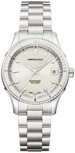 ハミルトン ジャズマスター レディース 腕時計 Jazzmaster Seaview 37mm Auto Box Set White Dial Women's watch #H37425111 ハミルトン ジャズマスター レディース 腕時計 Jazzmaster Seaview 37mm Auto Box Set White Dial Women's watch #H37425111