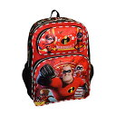 """インクレディブル・ファミリー グッズ ミスターインクレディブル バックパック リュック バッグ カバン 鞄 Incredibles 2 Disney-Pixar Boy's 16"""" School Bag Backpack"""