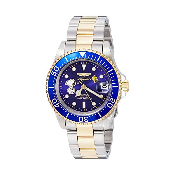インビクタ 腕時計 INVICTA インヴィクタ 時計 スヌーピー Invicta Men's Automatic Stainless Steel Casual Watch, Color Two Tone (Model: 24786)