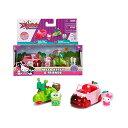 ハローキティ ミニカー けろけろけろっぴ ダッシュフレンズ アップル おもちゃ キティちゃん Hello Kitty Friends Dazzle Dash - Apple Coupe Keroppi Coconut Scooter - 2-Pack Collector 039 s Series Die Cast Vehicle Set