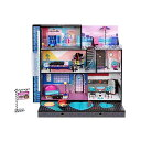 LOLサプライズ ドールハウス プレイセット おもちゃ グッズ フィギュア 人形 ファッションドール LOL Surprise OMG House New Real Wood Doll House with 85 Surprises 3 Stories, 6 Rooms including Elevator, Tub, Pool, Patio, Living Room, Kitchen