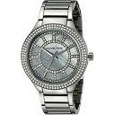 マイケルコース Michael Kors レディース 腕時計 時計 Michael Kors Women's Kerry Gunmetal-Tone Watch MK3410