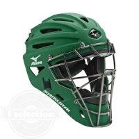 【USAミズノ サムライ G4シリーズ 硬式用 キャッチャーマスク フォレスト グリーン Mizuno G4 Samurai Catchers Helmet Forest】の画像