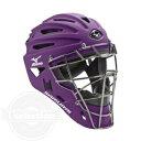 【USAミズノ サムライ G4シリーズ 硬式用 キャッチャーマスク パープル Mizuno G4 Samurai Catcher 039 s Helmet Purple】
