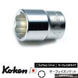 """【在庫あります】Ko-ken 3410M-11 3/8""""sq. サーフェイス ソケット 11mm コーケン Koken / 山下工研"""