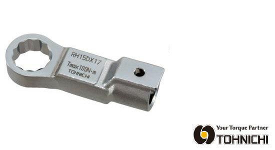 東日 トルクレンチ 交換 ヘッド RH19DX19 RH型 リングヘッド (メガネヘッド) 19mm TOHNICHI / 東日製作所