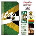 全機種対応 音楽 ミュージック music jamaica ジャマイカ レゲエ reggae rasta ラスタ roots weed cannabis ガンジャ ストリート 手帳型 スマホケース 送料無料 KC-01 S301 VA-10J 6P iPhone7 plus iPhone6 6s plus