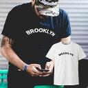 星条旗 BROOKLYN ブルックリン newyork ニューヨーク Tシャツ プリント デザイン プランド アパレル 服 洋服 メール便 送料無料 メンズ レディース 半袖 アパレル MENS LADIES MEN WOMEN S M L XL