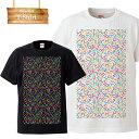 幾何学 幾何学模様 geometry カラフル オリジナル orijinal ワンポイント ロゴ 写真 フォト フォトT Tシャツ プリント デザイン 洋服 t-shirt 白 黒 ホワイト ブラック