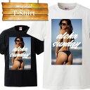ケツ お尻 ビキニ 美尻 aloha hawaii ハワイアン プール パイナップル アロハ グアム セクシー sexy ビッチ bitch 水着 休暇 ンス 夏休み Tシャツ T-shirt ティーシャツ 半袖 大きいサイズあり big size ビックサイズ
