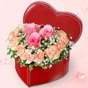 花キューピット【結婚記念日】yb00-511332ピンクバラ...