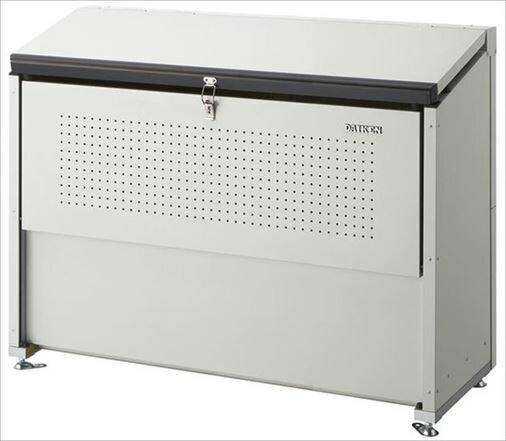 ダイケン スチールゴミ収集庫クリーンストッカー 間口1300 CKE-1300 屋外 大型 ゴミ箱 ゴミ置き