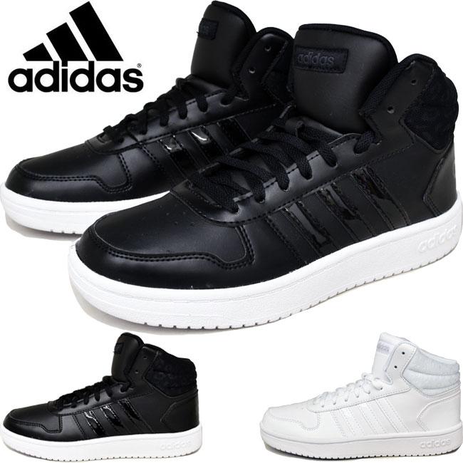 adidas アディダス レディース スニーカー ADIHOOPS MID 2.0 W ハイカット DB1226 DB1227 【10%OFF】