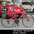 【送料無料】Alfa Romeo(アルファロメオ) Speciale R7 700c 軽量アルミフレーム AL-ROAD7021 ドロップハンドル シマノ21段変速 フレームサイズ450mm 02P01Oct16