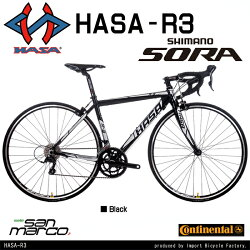�ڼ�ž�֥ȥ�֥�쥹���塼�աۡ�����̵����HASA(�ϥ�)R3���ޥ�SORA18speed�?�ɥХ����ǥ奢�륳��ȥ?���С��������奭���ѡ��֥졼�����奯���å���꡼�����ʥȥߥå�����?�ɥ�åץϥ�ɥ�9.4kg