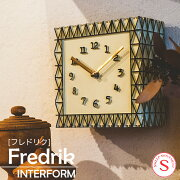 インターフォルム Fredrik フレドリック  ウォールクロック 壁掛け時計 掛け時計 アンティーク【送料無料】