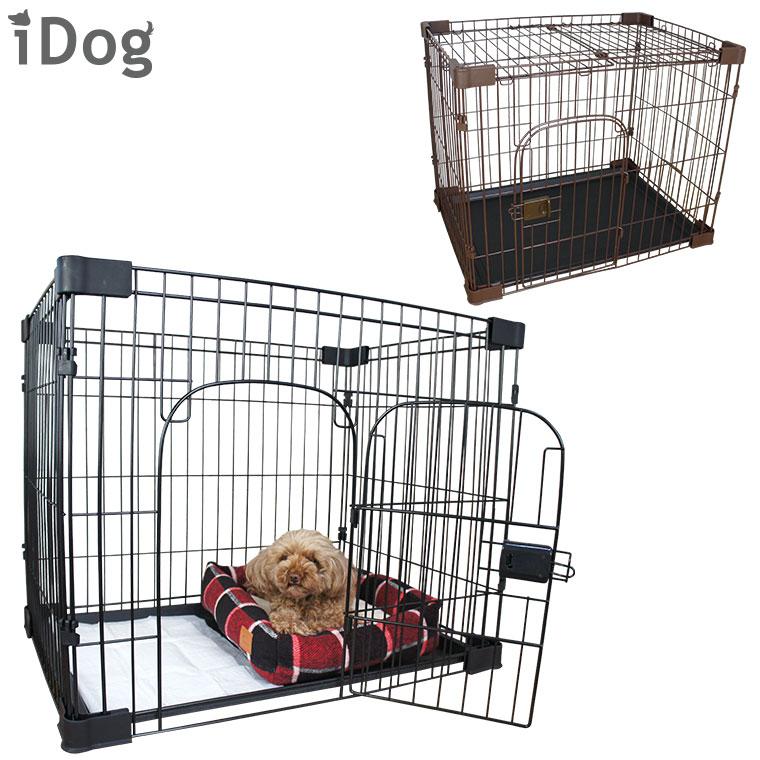 猫ケージiDogペット用シンプルケージ73Lx53Wx60Hアイドッグ猫犬用猫用犬用品猫用品ケージゲ