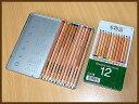◆トンボ鉛筆木物語 缶入色鉛筆12色 【楽ギフ_名入れ】 【02P03Dec16】