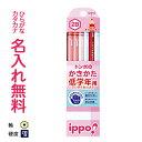 ■ippo(イッポ)低学年用かきかたえんぴつ【 六角 】2B赤鉛筆セット ピンク【zkanz】