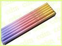 【cdm限定復刻版】 三菱鉛筆 かきかた鉛筆 ビニールケース First-Kグラデーションピンク 2B 【02P03Dec16】