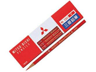 ◆ Mitsubishi pencil ( Zhu Bates round axis ) 1 dozen